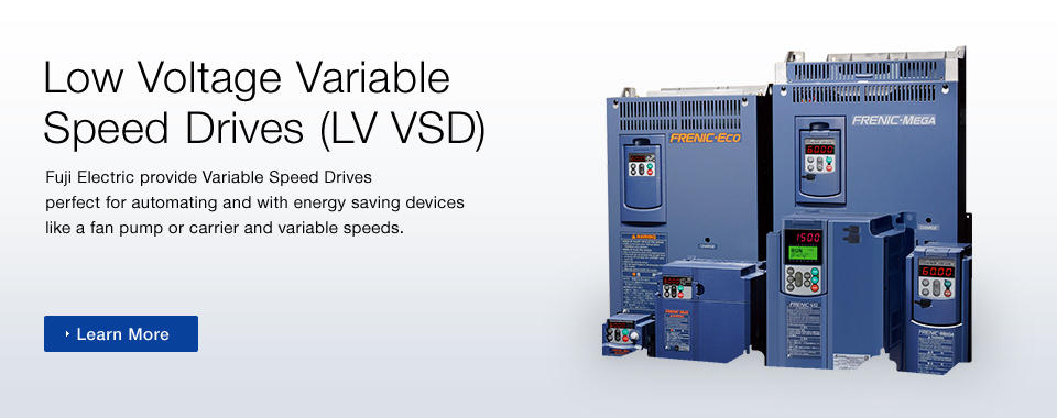 Low Voltage Variable Speed Drives (LV VSD)